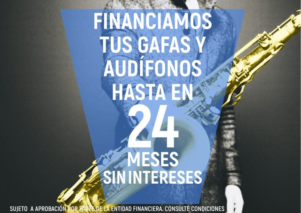 financiación gafas sin intereses